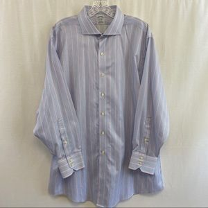 "Brooks Brothers Regent Fit Dress Shirt 17.5"" neck"